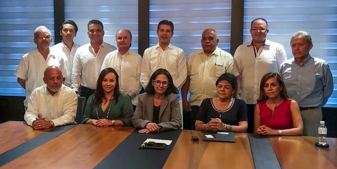Claudio Cetina se reúne con Presidente de la Cámara de Comercio de Cuba