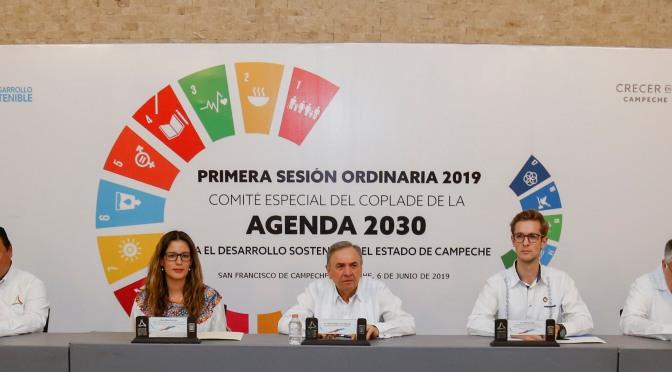 PNUD y Gobierno Federal compromiso de Campeche para concretar agenda 2030