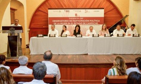07JUNIO2019-INSTALACIÓN OBSERVATORIO DE PARTICIPACIÓN POLÍTICA DE LA MUJER2