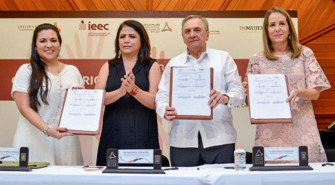Instalan Observatorio de Participación Política de la Mujer para garantizar paridad de género
