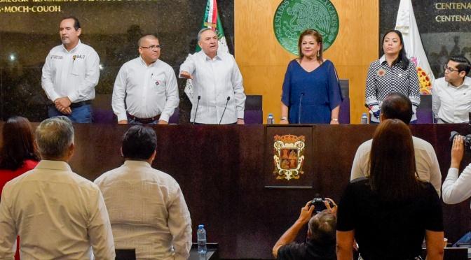 Rinde protesta Carlos Miguel Aysa González como gobernador constitucional sustituto de Campeche