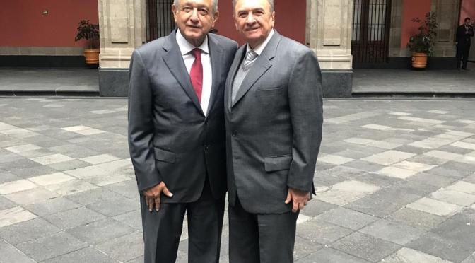 Se reúne el gobernador de Campeche, Carlos Miguel Aysa González, con el Presidente Andrés Manuel López Obrador