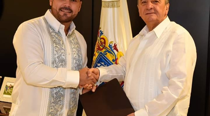 Nombra Gobernador Aysa González a Christian Castro Bello titular de Desarrollo Social y Humano de Campeche