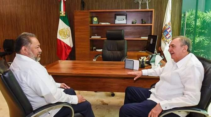 Garantiza el gobernador Aysa González división de poderes en Campeche