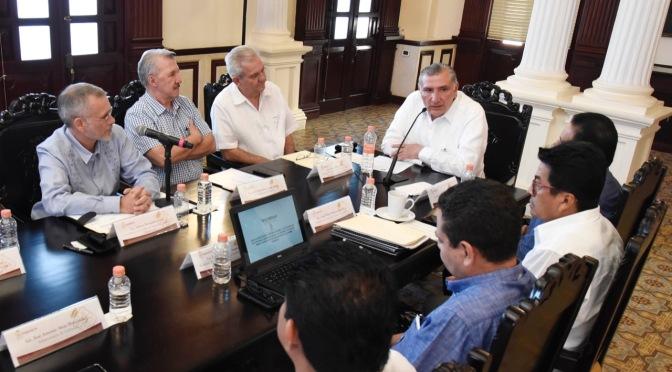 Se reúne el gobernador Adán Augusto con Mesa de Seguridad y Justicia