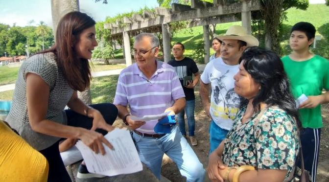 Despeja la diputada federal Soraya Pérez a tabasqueños dudas sobre la nueva tarifa 1F