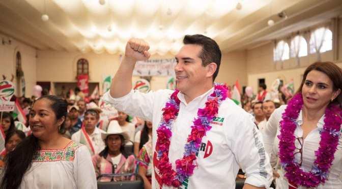 Más unidos, para ser más fuertes en el PRI:  Alejandro Moreno Cárdenas
