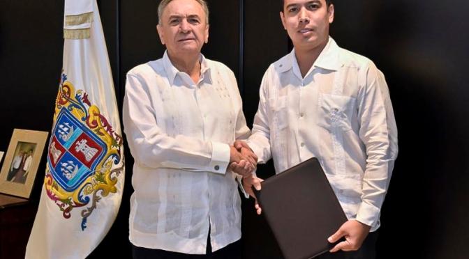 Nombra Gobernador de Campeche a nuevo secretario de gobierno