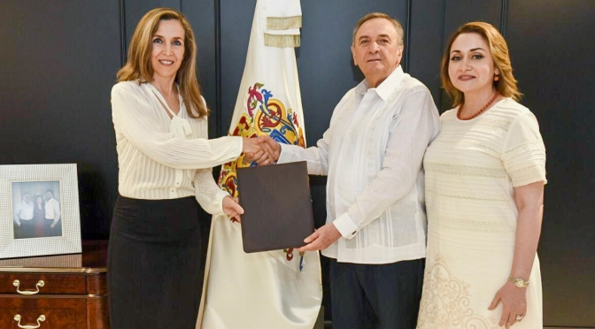 Nombra el gobernador Aysa González a Sonia María Castilla directora general del Patronato del DIF de Campeche