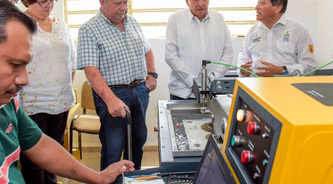 Anuncia Gobernador de Campeche, Carlos Aysa González, inversión de 1MDP en maquinas para garantizar calidad en pavimentación