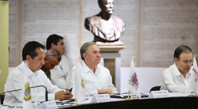 Respalda gobernador Carlos Miguel Ayza González estrategia de seguridad y migración