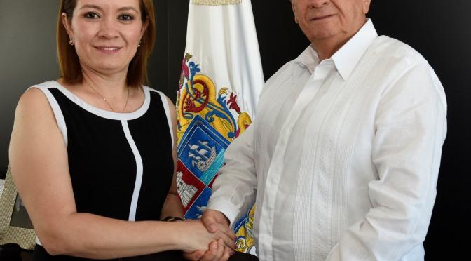 Nombra Gobernador Carlos Miguel Aysa González a nueva titular de Trabajo y Previsión Social de Campeche