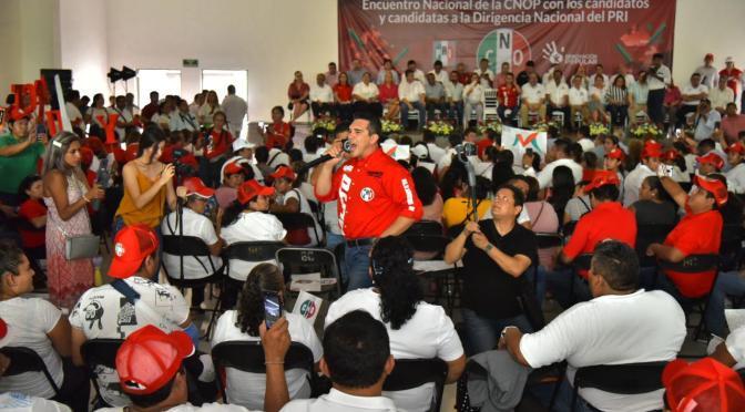 Donde está el pueblo, ahí está el PRI ganador: Alejandro Moreno Cárdenas