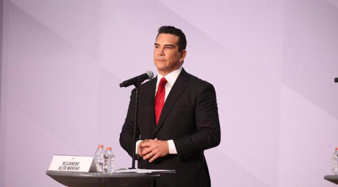 Alito define en el debate la ruta del PRI para ganar elecciones