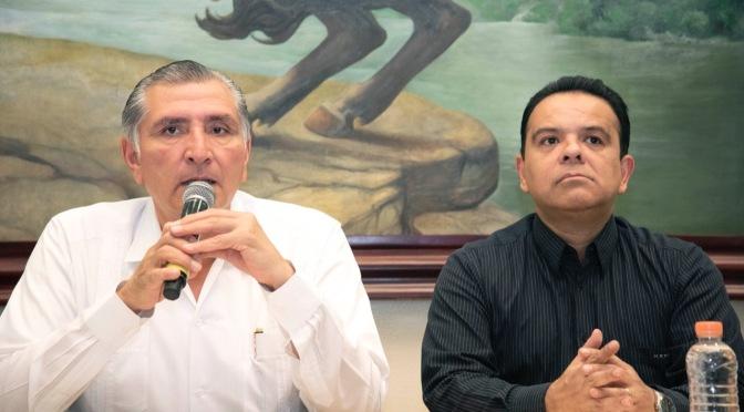 Reforma a Código Penal acabará  con la extorsión: Adán Augusto