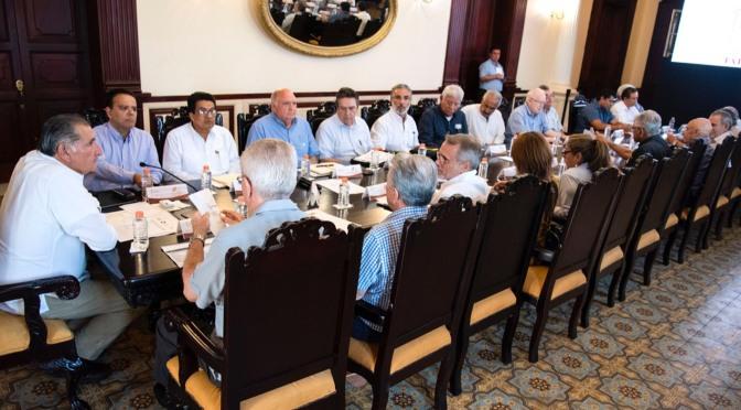 Encabeza el Ejecutivo reunión con Mesa de Seguridad y Justicia