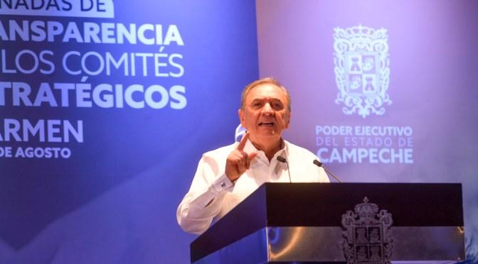 Garantiza Gobernador Carlos Miguel Aysa González respaldo a sector económico para cimentar el futuro de Campeche