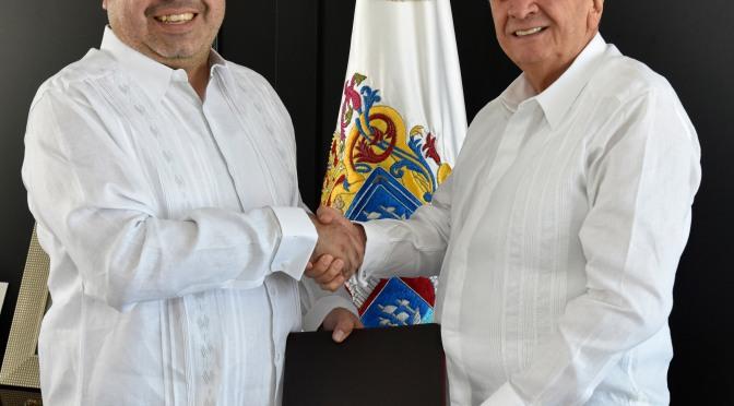 Nombra gobernador a nuevo titular del Instituto de Capacitación para el Trabajo de Campeche