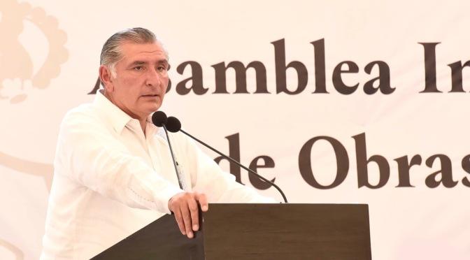 La Chontalpa recobrará su vocación productiva, afirma Adán Augusto