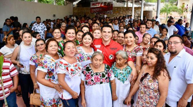 """En la zona maya el PRI está más vivo que nunca y va con todo con Alejandro Moreno, """"Alito"""""""