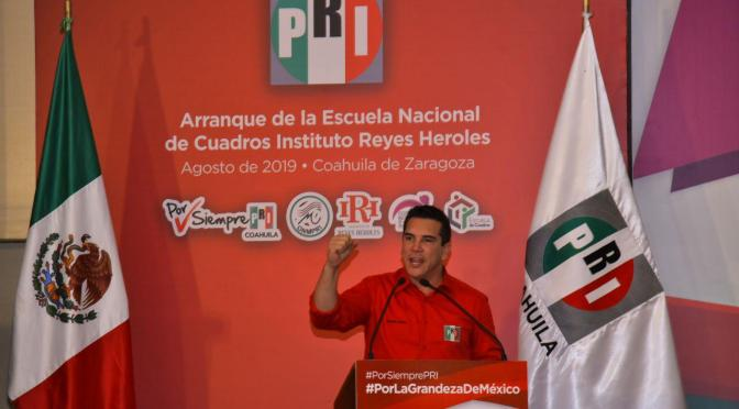 Impulsar un partido humilde, sencillo, cercano a la gente, es lo que va a construir el mejor PRI de todos los tiempos: Alejandro Moreno Cárdenas