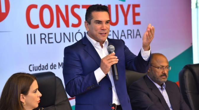 Tiene PRI a mujeres y hombres para dar la batalla en la tribuna de la Nación: Alejandro Moreno Cárdenas