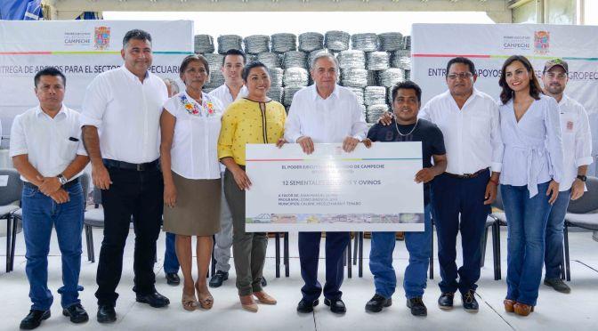 Mayor inversión al campo por ser gran fortaleza de Campeche: gobernador Carlos Miguel Aysa González