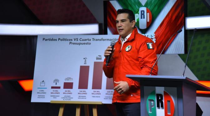 El PRI no es, no ha sido ni será una oposición desmoralizada: Alejandro Moreno Cárdenas
