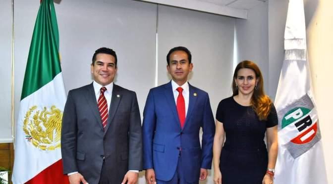 Designa el dirigente del PRI  a Ricardo Aguilar como Secretario de Organización del CEN del partido